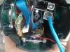 Ansicht von unten mit eingebauten Komponenten