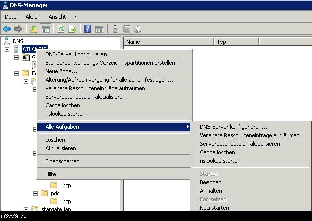 Windows Server 2008 DNS Debug/Log Einstellungen | EDVler-Blog.de